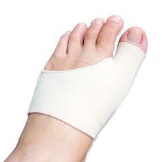 Juanete manga de Gel Hallux Valgus dispositivo pie dolor aliviar cuidado de los pies para tacones altos plantillas ortesis superposición dedos gordos corrección
