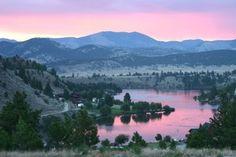 Beautiful colors outside Helena Montana