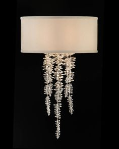 John Richard Collection - Cascading Crystal Sconce - AJC-8879