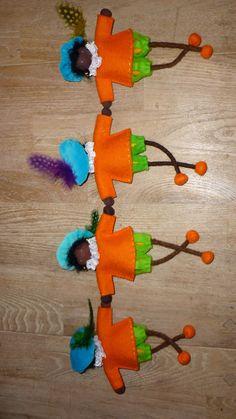 Ingrid's creations:. My Bengel Pietjes are off.