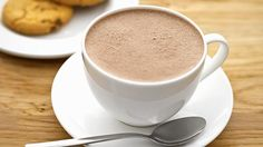 Hot chocolate at morning or night! Yummy!