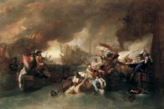 The Battle of La Hogue by Benjamin West