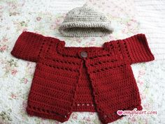Baby Jacket and Hat