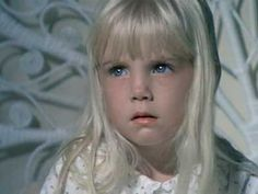 "Heather O' Rourke in the ""Poltergeist"" films. She was only twelve years old when she died in 1988 as a result of an illness. It took a while for the exact cause of her death to be known. She died during filming of the third ""Poltergeist"" film. Her death was made bizarre due to the fact several other cast members died, leading to believe that the films were cursed. Many of them, like heather, died as a result of illnesses whilst two others were murdered"