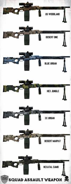 SAW (Squad Assault Weapon) by Milosh--Andrich