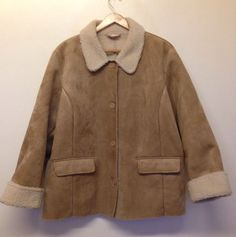 ANDRE DEBRETT FAUX SHEEPSKIN COAT SIZE 22-24 - WORN ONCE OR TWICE ONLY! #AndreDebrett #OtherJackets #Casual