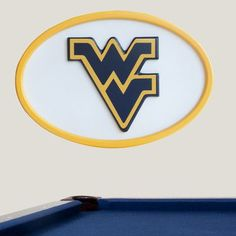 Fan Creations NCAA Logo Textual Art Plaque NCAA Team: West Virginia