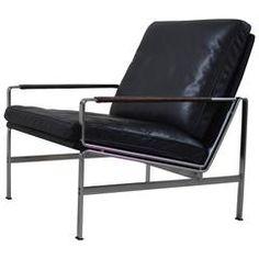 Arm Chair Model 6720 by Preben Fabricius & Jørgen Kastholm