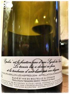 2014 Domaine Vaquer Epsilon Côtes du Roussillon Villages Les Aspres, France - Social Vignerons