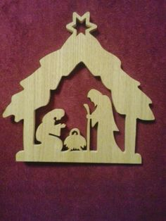 Holiday Wood Crafts, Christmas Crafts For Gifts, Christmas Ornaments To Make, Christmas Mom, Christmas Projects, Nativity Ornaments, Christmas Nativity Scene, Felt Christmas Decorations, Christmas Themes