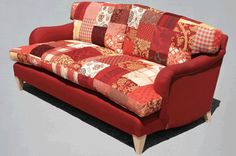 Howard Style Patchwork Sofa