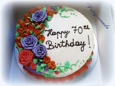 Patry's Cake:  70th anniversary cake