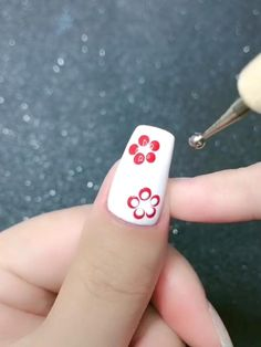 Nail Salon Design, New Nail Art Design, Simple Nail Art Designs, Nail Art Designs Videos, Nail Art Videos, Nail Designs, Beauty Hacks Nails, Nail Art Hacks, Diy Acrylic Nails