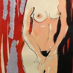 Female Nude Collage
