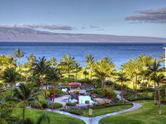View from the Honua Kai Maui/Kaanapali Beach honeymoon condo for Kyle & Amanda.