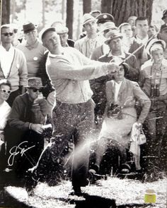 This is a Photo that has been hand signed by Jack Nicklaus. This is from the 1961 Masters. This item has the official tamper-proof Steiner Sports hologram and matching certificate of authenticity. Photographs And Memories, Photographs Of People, Photograph Lyrics, Masters, Jack Nicklaus, Vintage Golf, Female Photographers, Sports Stars, How To Become