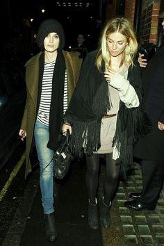 Keira Knightley + Sienna Miller