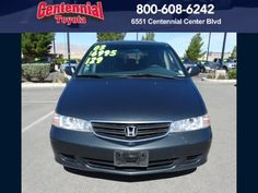 2003 Honda Odyssey EX Minivan Liter 4 D ******Why pay more?  **Don't miss out on this great deal! General Information Stock # 440734 VIN: 5FNRL 18633B085869 Engine:  V6, VTEC, 3.5 Liter Transmission:  Automatic Drive: FWD Fuel City / Hwy 16/ 23 MPG Call for more information 1800 608 6242