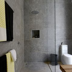 Our favourite boys, Brad and Dale have taken the win this week, with their functional and stylish bathroom and terrace.