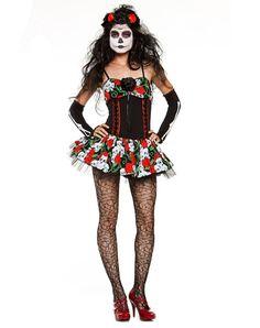 Dahlia of the Dead Adult Women's Costume