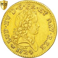 1724 A Double louis d'or Mirliton 2 Louis D'or PCGS XF45 * Click image to review more details.