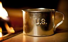 because sometimes you need to honor the civil war.    Jacob Bromwell Tin Cup  http://uncrate.com/stuff/jacob-bromwell-tin-cup/