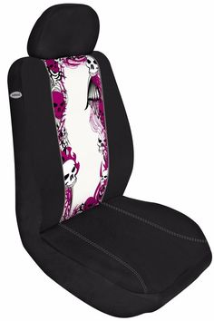 Set of 2 Auto Car Seat Cover Zip Switch Inserts Tribal Border Design  #AutomotiveInnovations