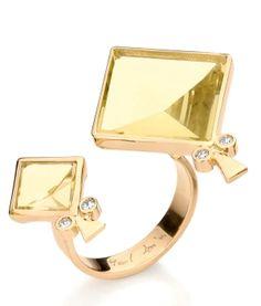 Theta love this Yael Sonia Kites double ring
