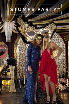 Throw an unforgettable masquerade-themed prom with Stumps Party. Featuring lifesize Venetian masks, tiered chandeliers and personalized, on-theme favors, we have everything you need to create a memorable night. Tap the Pin to see more. Engagement Party Decorations, Wedding Themes, Party Themes, Theme Ideas, Black Candelabra, Stumps Party, Cute Dresses, Cute Outfits, Masquerade Theme