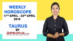 #Taurus - #Weekly #Horoscope for 17th to 23rd #April 2016 #astrology #Zodiac