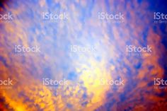 A Sunset Sky Background in soft focus. Sunset Sky, Abstract Photos, Image Now, Royalty Free Stock Photos, Nature, Photography, Naturaleza, Photograph, Fotografie