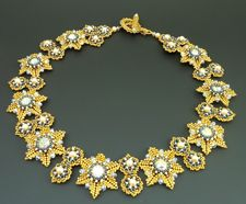 Laura McCabe Treasure Locket Necklace   Renaissance Revival Necklace