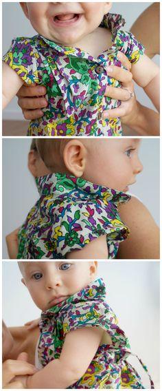 197a393ca0e Girls Annie Cotton Shirt Dress - Sari Paisley