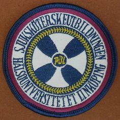 Nursing-UNIVERSITY-Linkoping-SWEDEN-PATCH-Badge-embroidered-Medical-Halso-PBL
