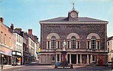b1124 Town Hall, Carmarthen, Carmarthenshire, Wales postcard unposted
