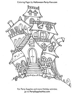 Halloween Coloring Sheets | Right click Halloween Coloring Page Graphic below toPrint!