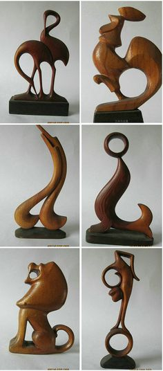 woodcarving--animals by LINWANG