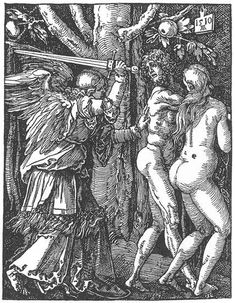 Expulsion from Paradise by Albrecht Durer