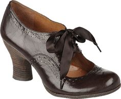 Click Image Above To Buy: Naya Jada (women's) - Oxford Brown Fellini Leather/cosmic Metallic Oxford Shoes Heels, Shoe Boots, Evita Shoes, 1950s Shoes, Old Shoes, Brown Oxfords, Mary Jane Pumps, Peep Toe Pumps, Vintage Shoes