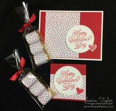 Easy handmade Valentine's Day Ideas for treats and cards. Have fun & make them yourself!