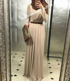 Tap the link now to see our super collection of accessories made just for you! Arab Fashion, Islamic Fashion, Muslim Fashion, Modest Fashion, Fashion Dresses, Young Fashion, Modest Outfits, Dress Outfits, Hijab Dress Party