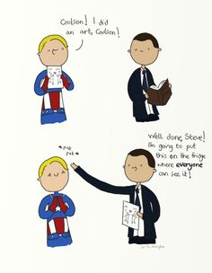 .Well done, Steve!. by bababug on DeviantArt