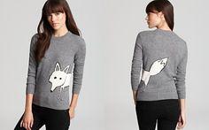 Burberry Brit Fox Knit Sweater