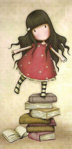 Gorjuss Illustration Bulgarian Language, Cosmo Girl, Girl Blog, Jolies Images, Amigurumi Doll, Whimsical Art, Pretty Pictures, Cute Illustration, Paper Dolls
