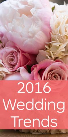Top 2016 Wedding Trends Photo by Erin Johnson Photography