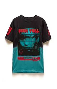 A PacSun.com Online Exclusive! Been Trill comes with a quality men's t-shirt found at PacSun. The Entropy T-Shirt for men has a gradient body and multi color Been Trill graphic on front.	Two tone tee with Been Trill graphic on front	Crew neck	Short sleeves	Regular fit	Machine washable	100% cotton	Imported