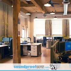 Delicieux Office Noise Reduction   Soundproofing Cubicles