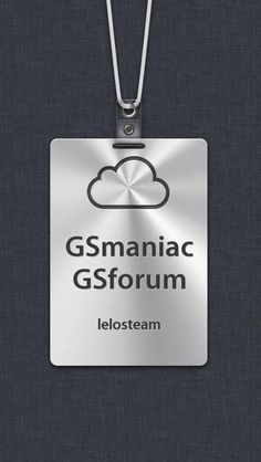 GSMANIAC GSFORUM LELOSTEAM, the iPhone 5 Custom Name Badge I just built!
