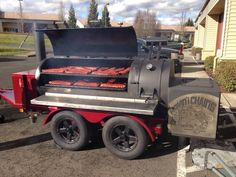 Movin' The Chains Yoder Smokers trailer packed to the brim!