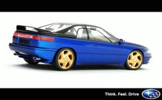 Subaru SVX. A nice grand touring car and a bit quirky in a good way.